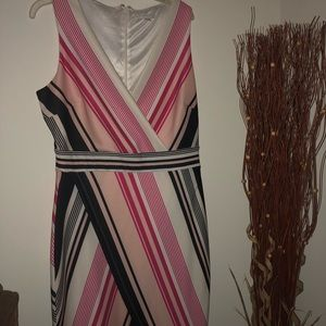 New York and company stripe dress